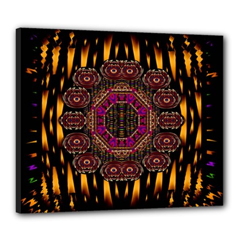 A Flaming Star Is Born On The  Metal Sky Canvas 24  X 20  by pepitasart