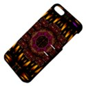 A Flaming Star Is Born On The  Metal Sky Apple iPhone 5 Hardshell Case with Stand View4
