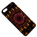 A Flaming Star Is Born On The  Metal Sky Apple iPhone 5 Hardshell Case with Stand View5