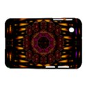 A Flaming Star Is Born On The  Metal Sky Samsung Galaxy Tab 2 (7 ) P3100 Hardshell Case  View1