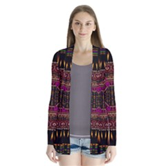 A Flaming Star Is Born On The  Metal Sky Drape Collar Cardigan by pepitasart