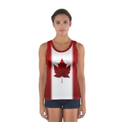 Canada Flag  Sport Tank Top  by CanadaSouvenirs