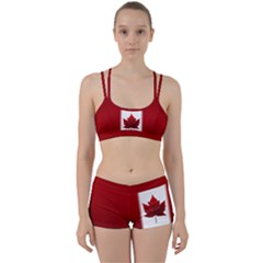 Canada Flag  Women s Sports Set by CanadaSouvenirs