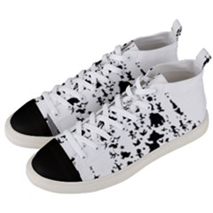 Happiest Castle On Earth Men s Mid Top Canvas Sneakers by SandiTyche