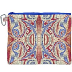 Symbols Pattern Canvas Cosmetic Bag (xxxl) by Cveti