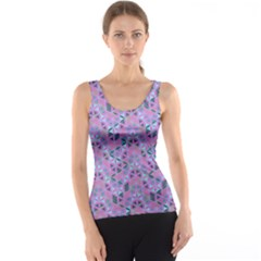 Sacred Geometry Pattern 2 Tank Top by Cveti