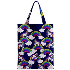 Rainbow Unicorns Classic Tote Bag by BubbSnugg
