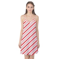 Candy Cane Stripes Camis Nightgown by jumpercat