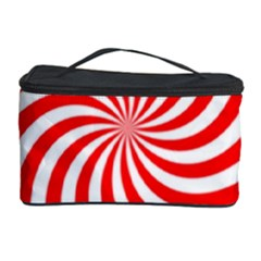 Peppermint Candy Cosmetic Storage Case by jumpercat