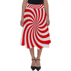 Peppermint Candy Perfect Length Midi Skirt