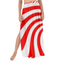 Peppermint Candy Maxi Chiffon Tie Up Sarong