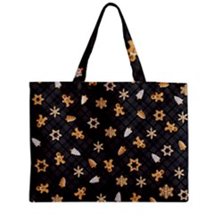 Gingerbread Dark Medium Tote Bag