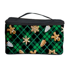 Gingerbread Green Cosmetic Storage Case