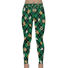 Gingerbread Green Classic Yoga Leggings
