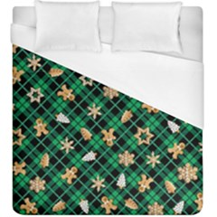Gingerbread Green Duvet Cover (king Size)