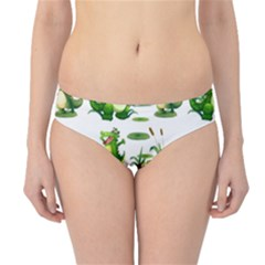 Crocodiles In The Pond Hipster Bikini Bottoms by allthingseveryday