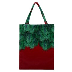 Xmas Tree Classic Tote Bag by jumpercat