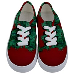 Xmas Tree Kids  Classic Low Top Sneakers