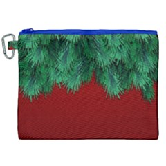 Xmas Tree Canvas Cosmetic Bag (xxl) by jumpercat