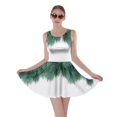 Snow And Tree Skater Dress