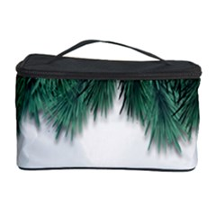 Snow And Tree Cosmetic Storage Case