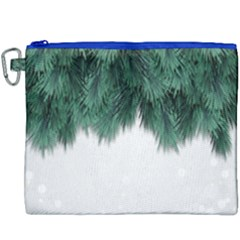 Snow And Tree Canvas Cosmetic Bag (xxxl) by jumpercat