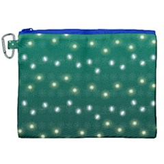 Christmas Light Green Canvas Cosmetic Bag (xxl) by jumpercat