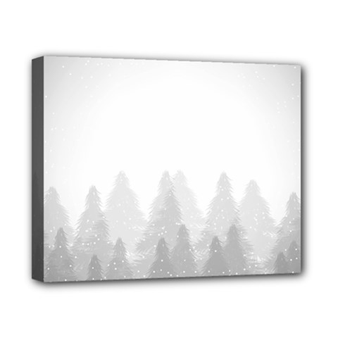 Winter Land Light Canvas 10  X 8  by jumpercat