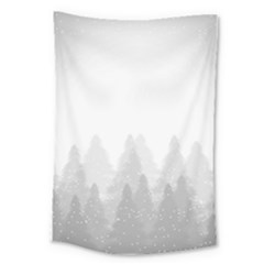 Winter Land Light Large Tapestry by jumpercat