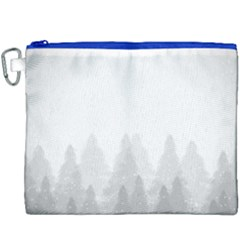 Winter Land Light Canvas Cosmetic Bag (xxxl)