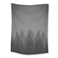 Winter Land Dark Medium Tapestry by jumpercat