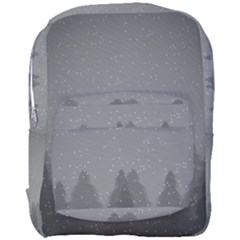 Winter Land Dark Full Print Backpack