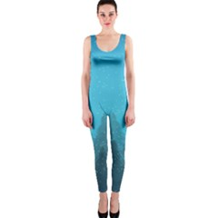 Winter Land Blue Onepiece Catsuit