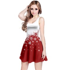 Xmas Snow 01 Reversible Sleeveless Dress