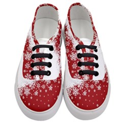 Xmas Snow 01 Women s Classic Low Top Sneakers