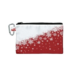 Xmas Snow 01 Canvas Cosmetic Bag (small)