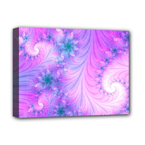 Delicate Deluxe Canvas 16  X 12   by Delasel