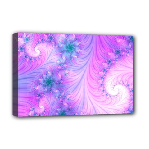 Delicate Deluxe Canvas 18  X 12   by Delasel