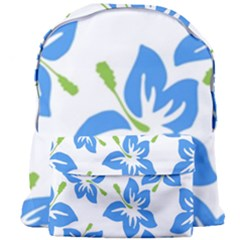 Hibiscus Wallpaper Flowers Floral Giant Full Print Backpack