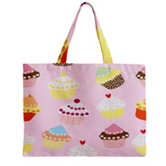 Cupcakes Wallpaper Paper Background Mini Tote Bag by Celenk