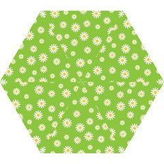 Daisy Flowers Floral Wallpaper Mini Folding Umbrellas