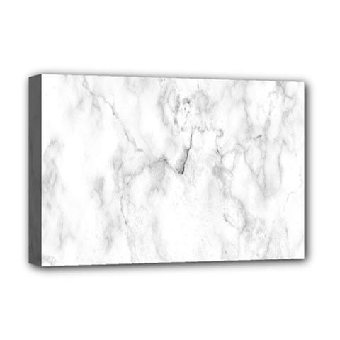 White Background Pattern Tile Deluxe Canvas 18  X 12   by Celenk