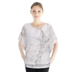 Marble Background Backdrop Blouse by Celenk