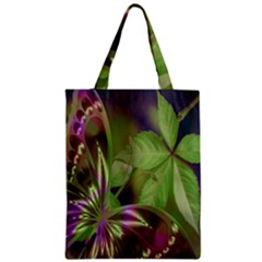 Arrangement Butterfly Aesthetics Zipper Classic Tote Bag by Celenk