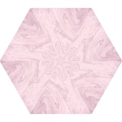 Marble Background Texture Pink Mini Folding Umbrellas by Celenk
