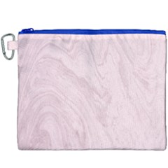 Marble Background Texture Pink Canvas Cosmetic Bag (xxxl) by Celenk