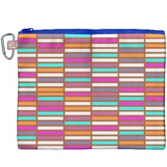 Color Grid 02 Canvas Cosmetic Bag (xxxl) by jumpercat