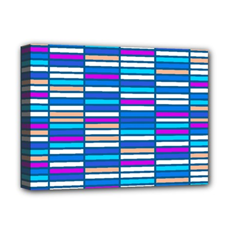 Color Grid 04 Deluxe Canvas 16  X 12   by jumpercat