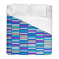Color Grid 04 Duvet Cover (full/ Double Size)