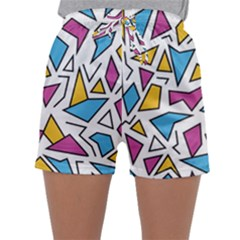 Retro Shapes 01 Sleepwear Shorts